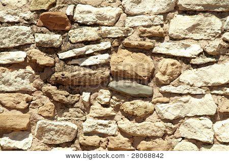 Tuzigoot National Monument stone native american indian ruin walls