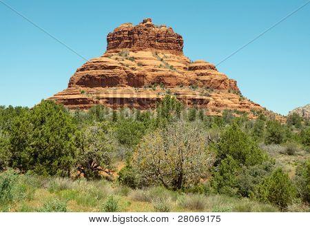 Bell Rock butte