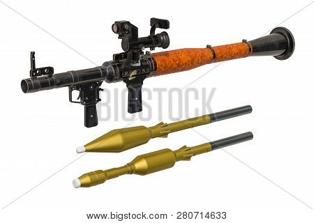 Antitank Guided Missile With Rockets