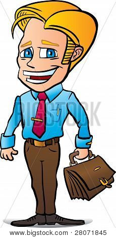 Marketer business man