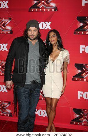 LOS ANGELES - DEC 19:  Josh Krajcik, Nicole Scherzinger at the FOX's