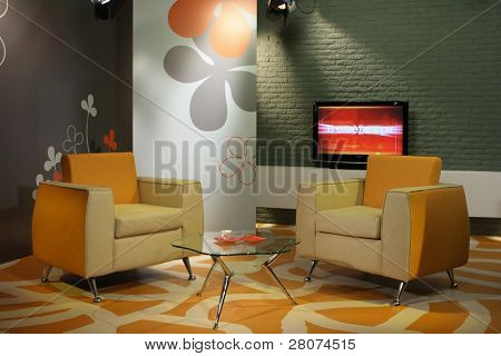 interior tv-studio