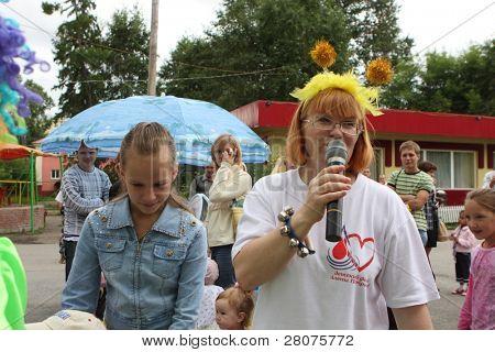 TOMSK, RUSSIA - JULY 25: Festival