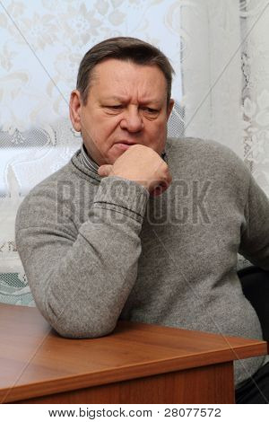 PODPOROZHYE, RUSSIA - FEBRUARY 2: Valery Serdyukov, governor of the Leningrad region, during a planned trip to Podporozhye, February 2, 2010 in Podporozhye, Russia.