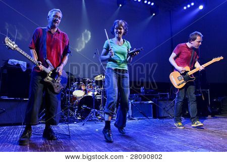 ST.PETERSBURG, RUSSIA - MAY 13: Music band The Ex (Netherlands) performs at the SKIF-15 (Sergey Kuryokhin International Festival) on May 13, 2011 in St.Petersburg, Russia.