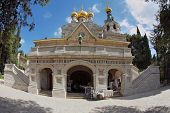 foto of church mary magdalene  - The great city of Jerusalem - JPG