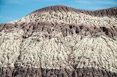 stock photo of paleozoic  - blue mesa hills - JPG