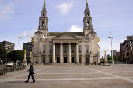 picture of city hall  - Overlooking the Millennium Square this building accommodates the Lord Mayor City Treasurer and City Council - JPG