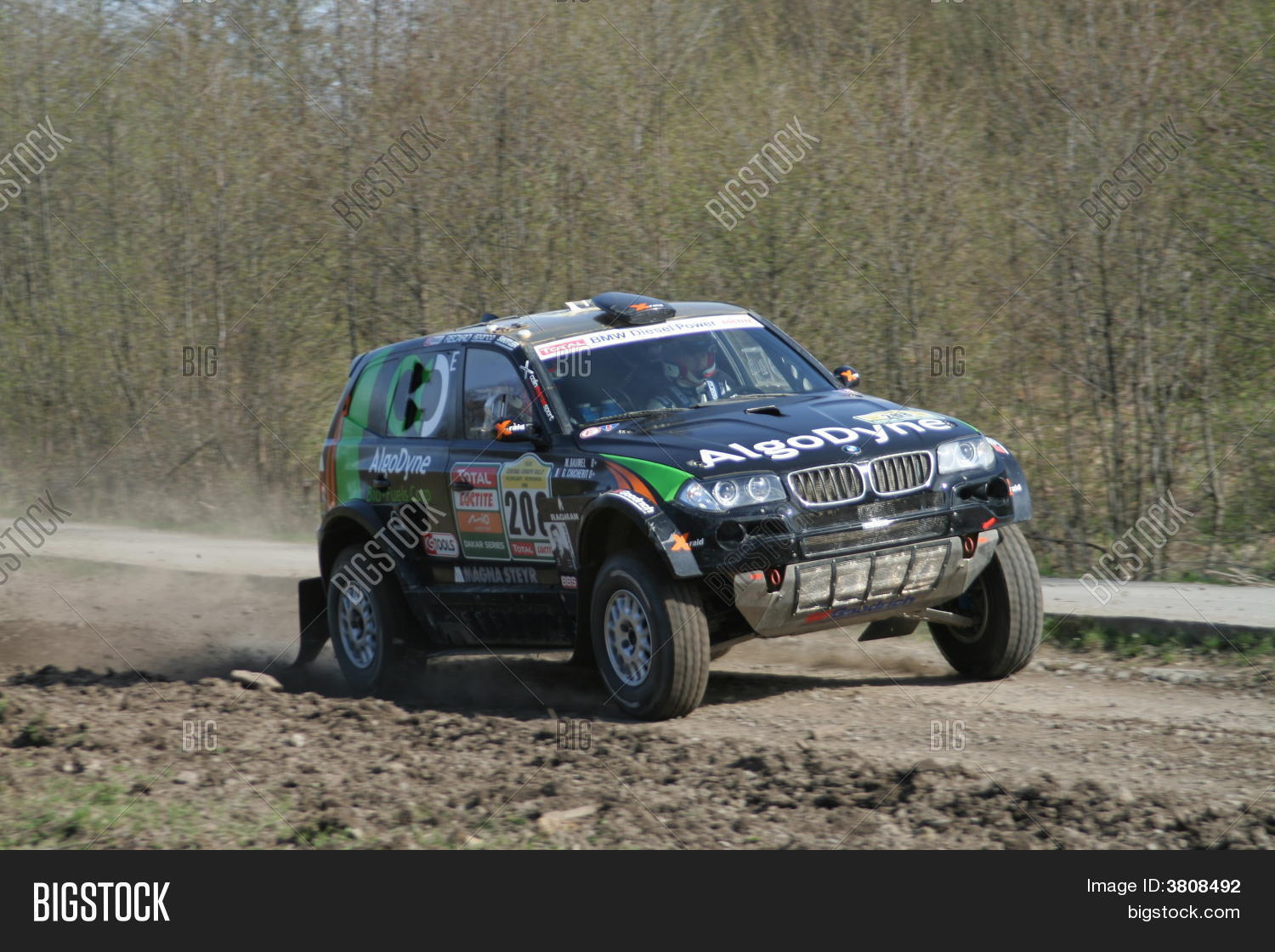 Bmw Rally Car Stock Photo  Stock Images  Bigstock