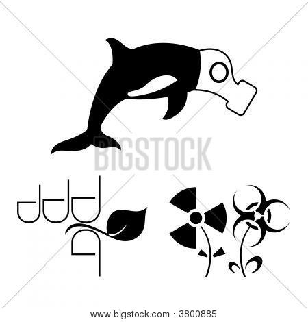 Ecology Warning Contour Symbols