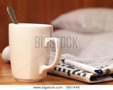 Mug And Crossword