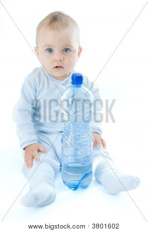 Baby And Water