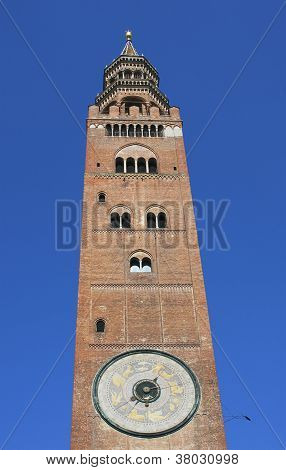 torrazzo tower in cremona