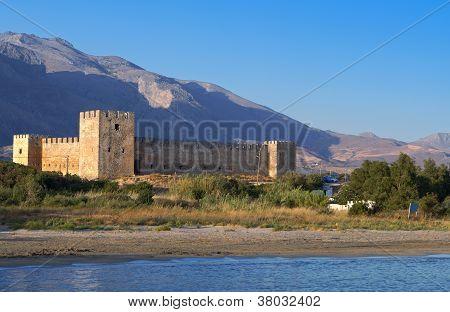 Fragokastelo at Crete island in Greece