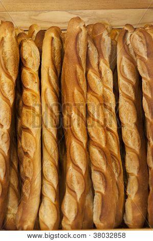 Bread baguettes