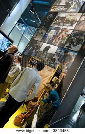 National Geographic At Photokina 2008