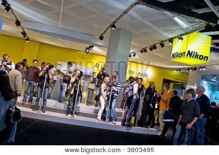 Nikon Equipment People Photokina 2008