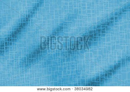 White Texture Over Dark And Light Aqua Color