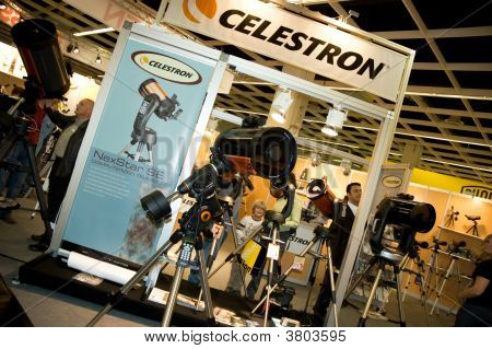 Celestron At Photokina 2008