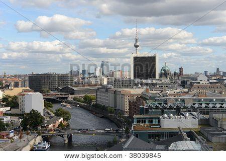 Vista aérea de Berlim