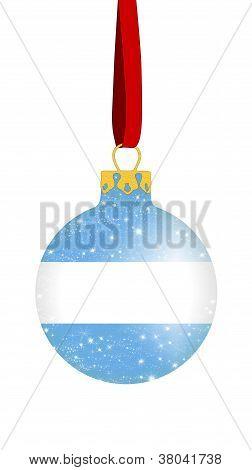 Christmas ball - Argentina