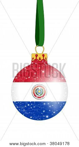Christmas ball - Paraguay