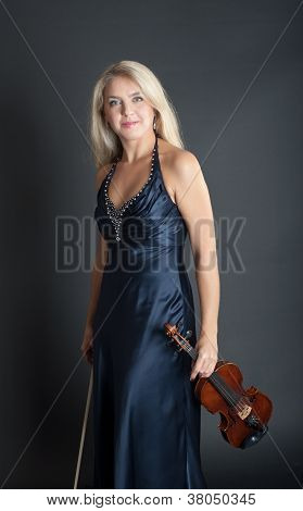 The Girl With A Violin