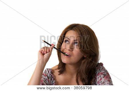 Woman study
