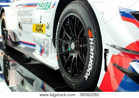 BMW closeup sport car