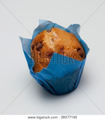 Mini chocolate chip muffin