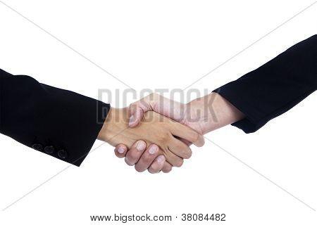 Geschäft Abkommen handshake
