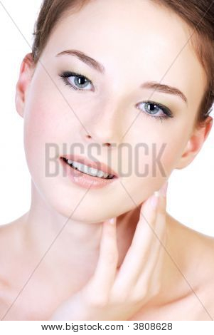 Beauty Teen Female Face