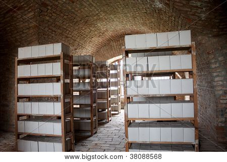 Historical Storage Of Ashes Of Prisoners From A Concentration Camp