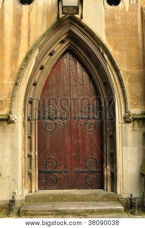 Heath Street Baptist Church Door