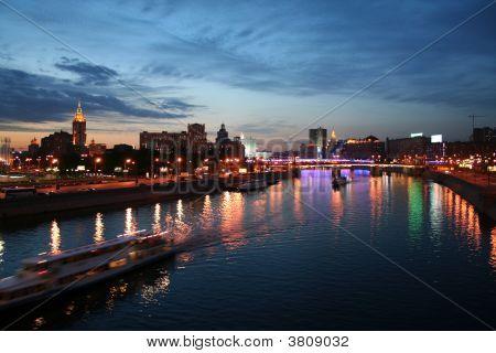 在莫斯科的夜晚
