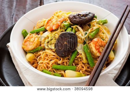 Asian currynoodles