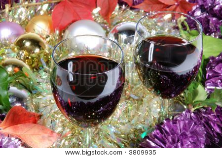 Two Wine On Christmas