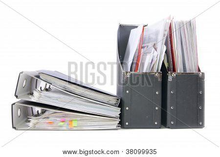 Files In The Office Folders