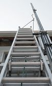 Exterior House Ladder