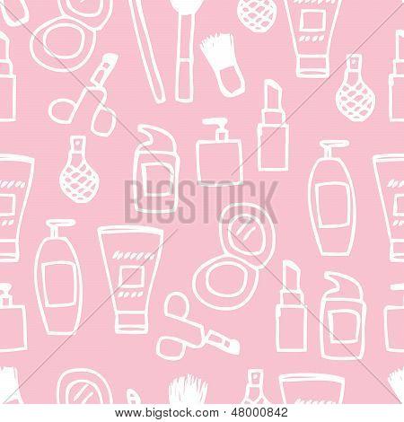 Seamless Cosmetics Icon