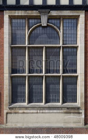 Ornate Leaded Window