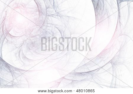 Abstract fractal background in white  blue lilac colors