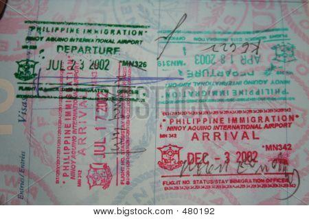 Philippine Entry Stamp 2