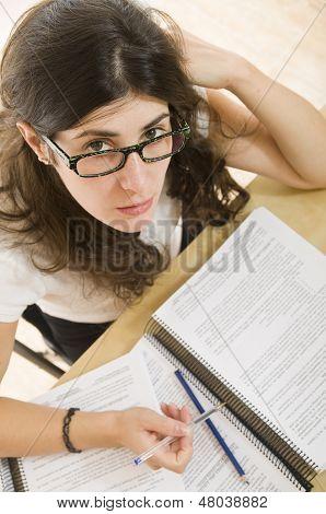 smart girl student