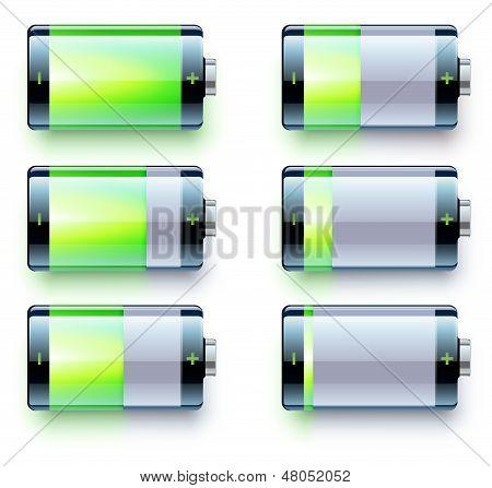 Battery Level Indicators