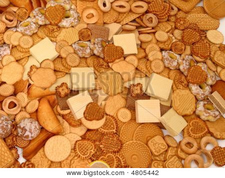 biscuits wafers