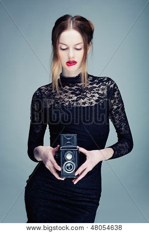 The Blonde Photographer