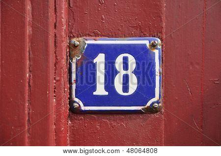 Number Eighteen