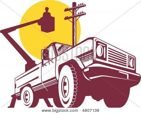 Bucket Truck Wormview