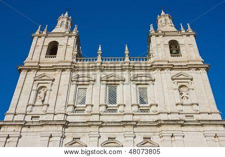 Monastery Of Sao Vicente De Fora Facade